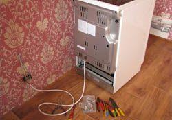 Подключение электроплиты. Казанские электрики.