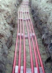 прокладка силовых кабелей. Казанские электрики.