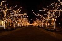 Подключение освещения зданий в Казани