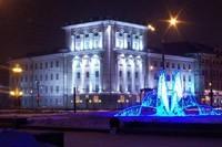 освещение фасадов в Казани