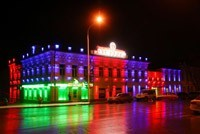 Наружное освещение: архитектурное освещение зданий, фасадов дома в Казани